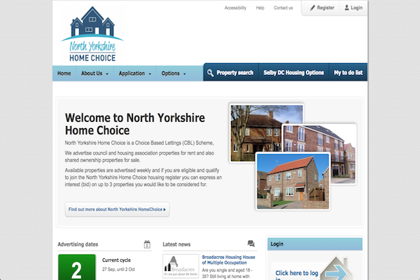 Choose where to find a home