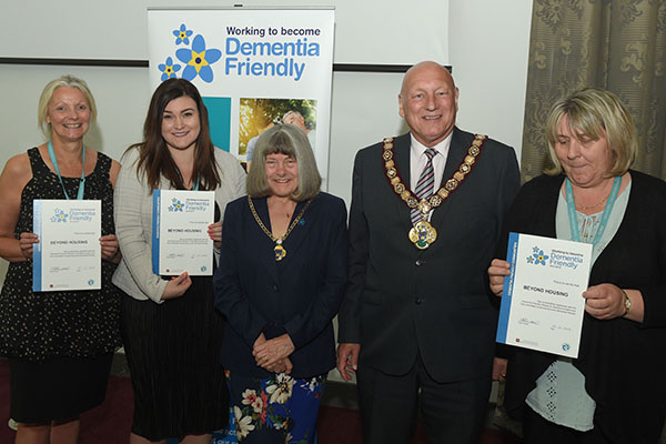 Dementia Friendly Redcar and Cleveland held a Celebration Event in the R&C Council Offices on Tuesday 23rd April 23/4/19 Pic Doug Moody Photography
