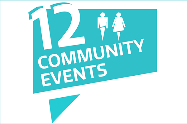 12 community events